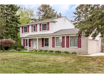 Novi Single Family Home For Sale: 40329 W Eleven Mile Road