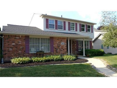 Novi Single Family Home For Sale: 24655 Apple Crest Drive