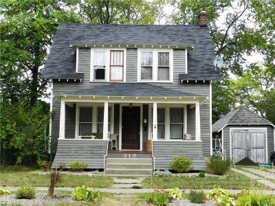 Ypsilanti MI Single Family Home For Sale: $120,000