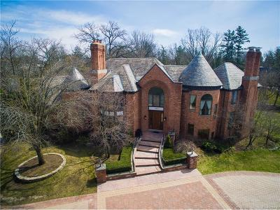 Bloomfield Hills Single Family Home For Sale: 1350 Orchard Ridge