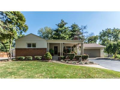 West Bloomfield, West Bloomfield Twp Single Family Home For Sale: 4375 Muirhead Street
