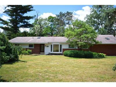 West Bloomfield, West Bloomfield Twp Single Family Home For Sale: 7208 Merrybrook