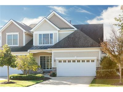 Novi Condo/Townhouse For Sale: 25868 Island Lake Drive