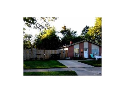 Taylor Single Family Home For Sale: 5948 Westlake Street
