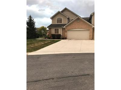 Brownstown Twp Condo/Townhouse For Sale: 23673 McCort Drive N