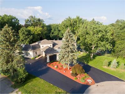 Bloomfield Twp Single Family Home For Sale: 4525 Lakeview Court