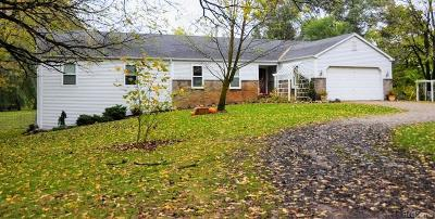 Single Family Home For Sale: 2311 32 Mile Road