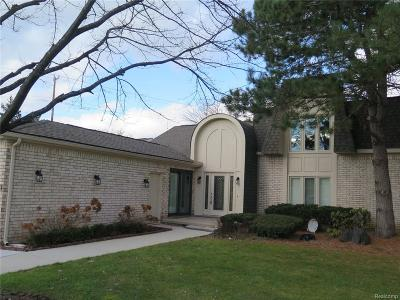 Bloomfield Twp MI Condo/Townhouse For Sale: $469,990