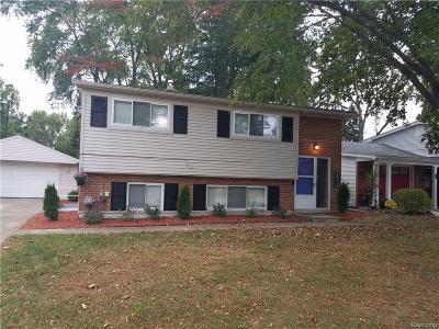 Livonia Single Family Home For Sale: 30113 Bretton Street