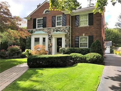 Huntington Woods Single Family Home For Sale: 26021 Salem Road