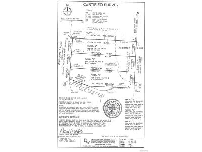 Waterford Twp Residential Lots & Land For Sale: Clintonville Road