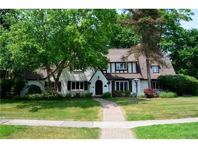 Bloomfield Twp Single Family Home For Sale: 391 N Cranbrook Road