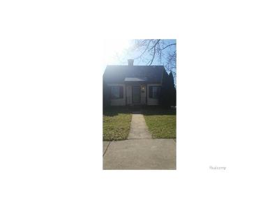 Detroit MI Single Family Home For Sale: $35,000