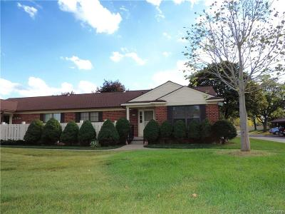 Plymouth Twp Condo/Townhouse For Sale: 40703 Newport