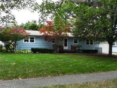 Ypsilanti Single Family Home For Sale: 723 Oxford Road