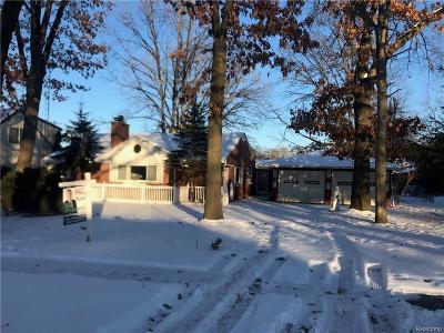 South Lyon Single Family Home For Sale: 678 N Hagadorn Street