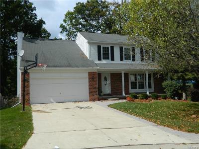 Rochester Hills Single Family Home For Sale: 438 Thornridge Court