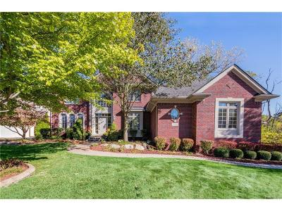West Bloomfield, West Bloomfield Twp Single Family Home For Sale: 5511 Hampshire Drive