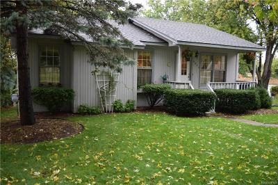 Commerce Twp Single Family Home For Sale: 5623 Paradise Street