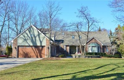 Grosse Ile Twp MI Single Family Home For Sale: $749,000