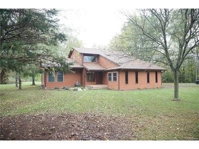 Huron Twp Single Family Home For Sale: 29800 Van Horn Road