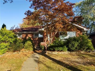 Trenton Single Family Home For Sale: 3345 Anna Avenue