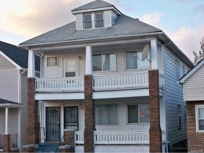 Hamtramck Multi Family Home For Sale: 2265 Wyandotte Street