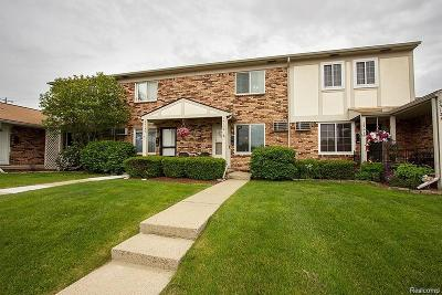 South Lyon Condo/Townhouse For Sale: 25128 Franklin Terrace