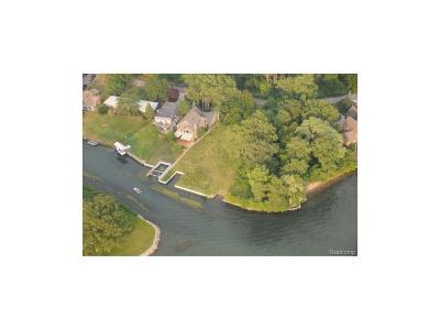 Grosse Ile, Gross Ile, Grosse Ile Twp Residential Lots & Land For Sale: 28802 Coleman