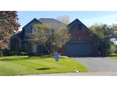 Milford Twp Single Family Home For Sale: 1363 Horseshoe Circle