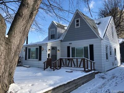 Clawson Single Family Home For Sale: 27 S Custer Avenue