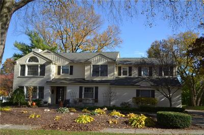 Bloomfield Twp Single Family Home For Sale: 770 Hupp Cross Road