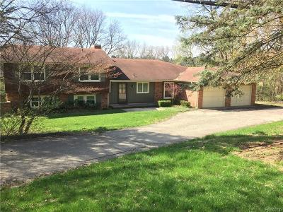 Farmington Hills Single Family Home For Sale: 32671 W Eleven Mile Road