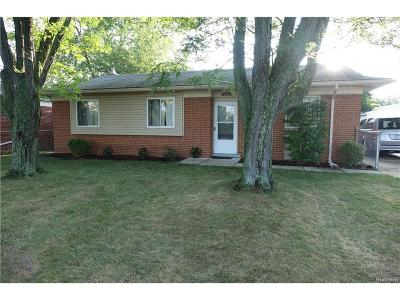 Livonia Single Family Home Sold: 14969 Newburgh Road