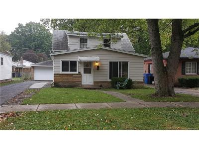 Dearborn Heights Single Family Home For Sale: 4125 Jackson Street