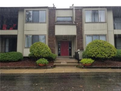 West Bloomfield, West Bloomfield Twp Condo/Townhouse For Sale: 5876 Vassar #20