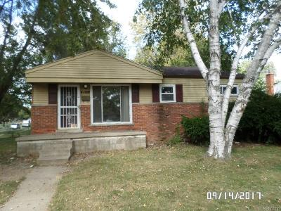 Ypsilanti Twp Single Family Home For Sale: 2061 Chevrolet Street