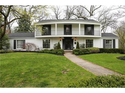 Bloomfield Twp Single Family Home For Sale: 3520 Burning Bush Road
