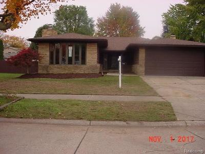 Livonia Single Family Home For Sale: 39341 Allen Street
