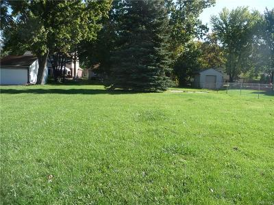 Sterling Heights MI Residential Lots & Land For Sale: $79,900