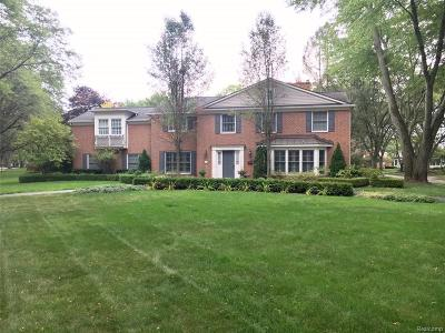 Bloomfield Twp MI Single Family Home For Sale: $1,239,000