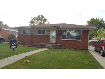 Dearborn Heights Single Family Home For Sale: 6053 Kinloch Street