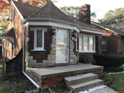 Detroit Single Family Home For Sale: 18647 Indiana Street