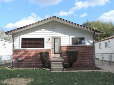 Livonia Single Family Home For Sale: 20228 Rensellor Street