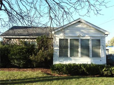 Ypsilanti Single Family Home For Sale: 542 Harriet Street