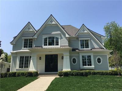 Birmingham Single Family Home For Sale: 1291 Suffield Avenue