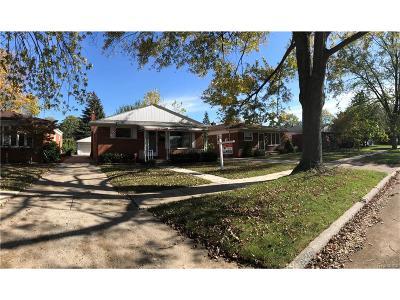 Dearborn Heights Single Family Home For Sale: 6510 Berwyn Street
