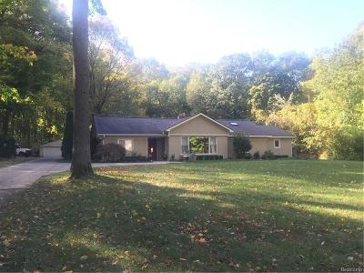 Farmington Single Family Home For Sale: 21545 Power Road