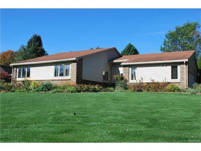 Commerce Twp Single Family Home For Sale: 3420 Luanne Drive