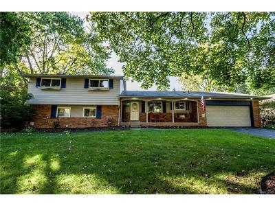 Farmington Hills Single Family Home For Sale: 32373 Nestlewood Street